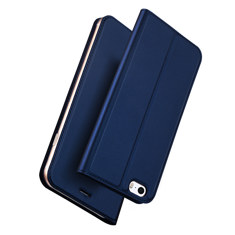 lowest price 8d519 0b9e5 For Iphone 5 Case Luxury PU Leather Flip Cover With Magnet Wallet Iphone 5S  Phone Bag For Iphone SE