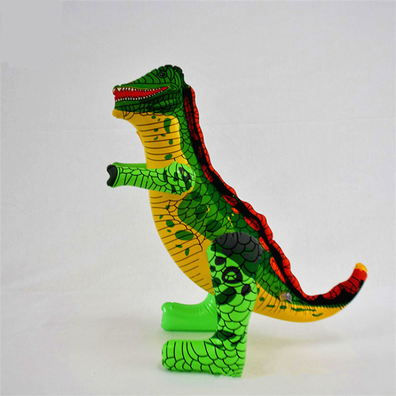 INFLATABLE  BLOW UP DINOSAUR BOYS GIRLS TOY PARTY BAG CHRISTMAS STOCKING FILLER