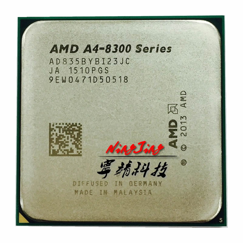 AMD A4 Series PRO A4 8350B A4 8350 3 5 GHz Qual Core CPU Processor AD835BYBI23JC