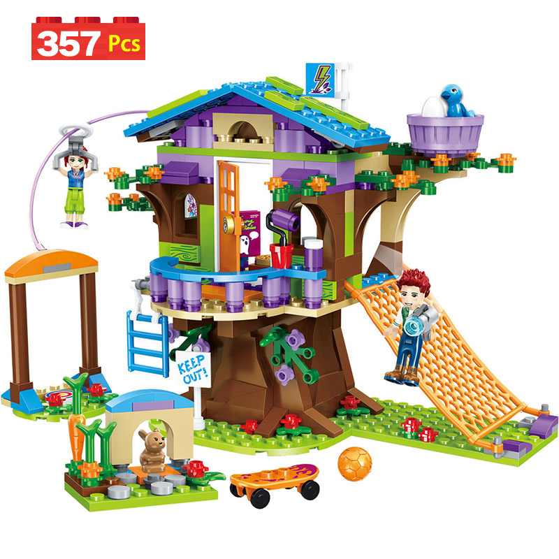 Detail Feedback Questions About 357pcs Girls Building Block