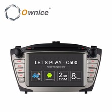 Ownice C500 4G for Hyundai iX35 Tucson 2009 2010 2011 2012 2013 2014 2015 Android 2 din car dvd gps Navigation radio Multimedia