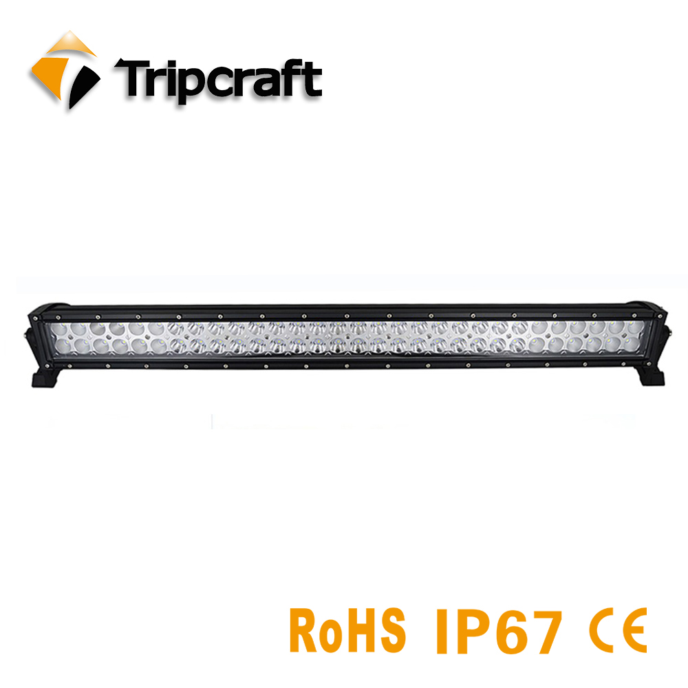 Tripcraft LED Bar for Offroad Car 4WD Truck Tractor Boat Trailer 4x4 SUV ATV 12V 24V Spot Flood LED Light Bar LED Work Light hello eovo 5d 32 inch curved led bar led light bar for driving offroad boat car tractor truck 4x4 suv atv with switch wiring kit