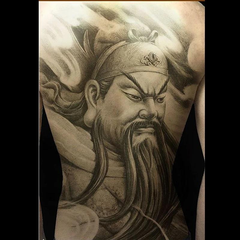 Tatuaze na plecy fajne Dragon Ball