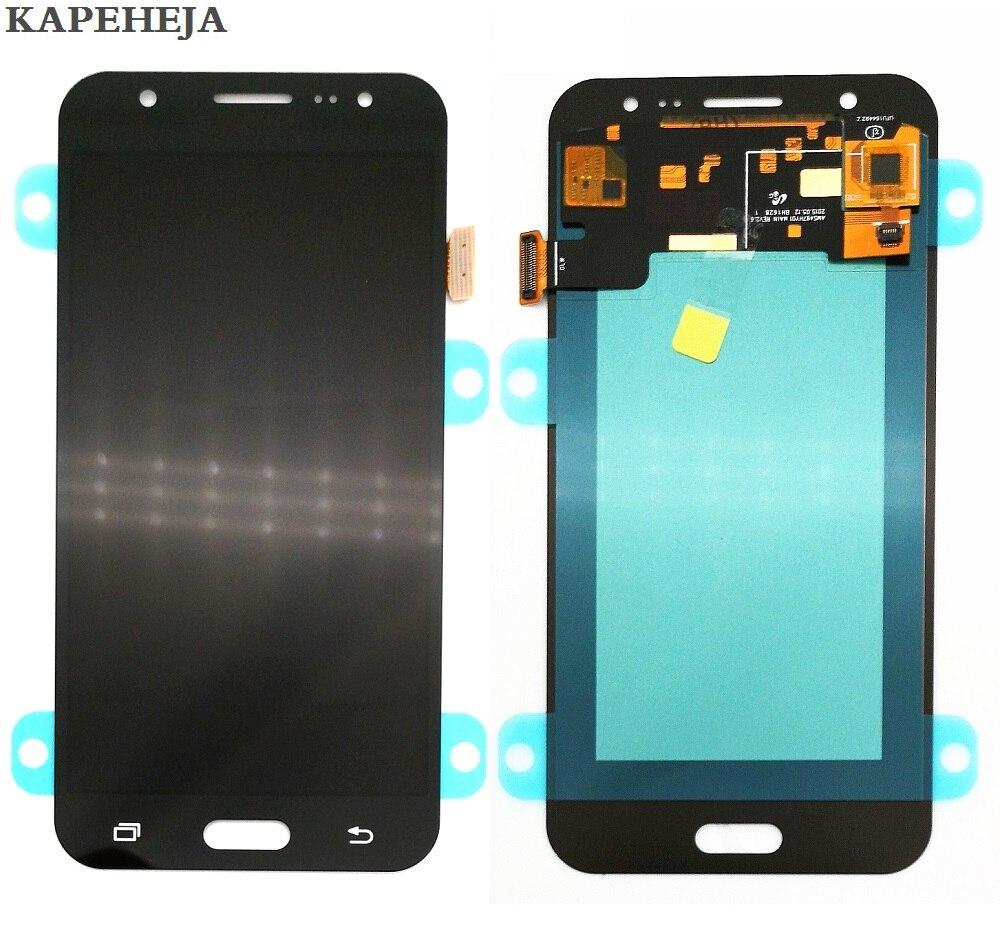 Super écran LCD AMOLED pour Samsung Galaxy J5 2015 J500 J500F J500FN J500M J500H LCD écran tactile numériseur assemblée