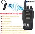Bluetooth рация UHF 400 - 470 мГц 16CH 4 Вт встроенный модуль Bluetooth портативный двух-ходовой радио с беспроводная bluetooth-гарнитура