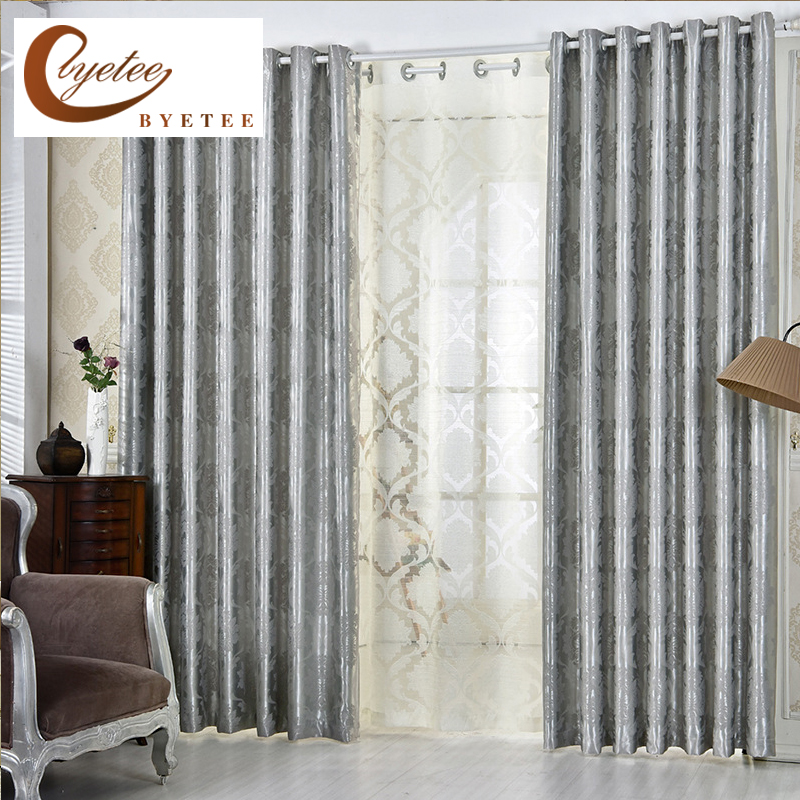 Kitchen Curtains Fabric Curtains Fabric Stripe Drapes: Aliexpress.com : Buy [byetee] European Jacquard Window