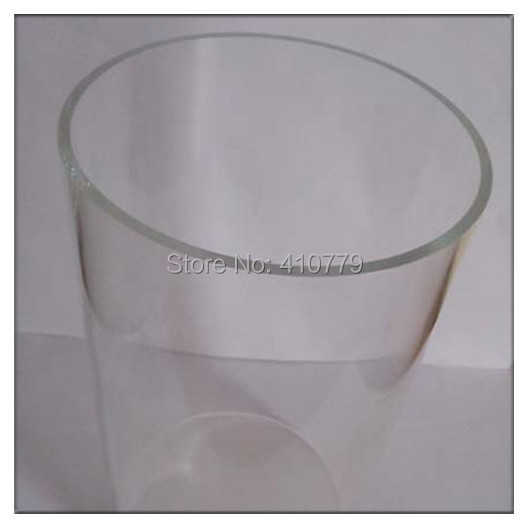 Home Improvement Acrylic Tube Clear OD90x5x95mm Water Pipe Plastic on