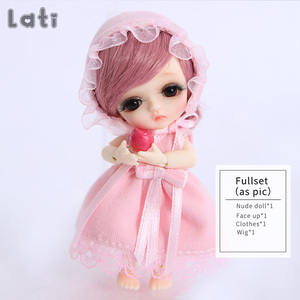 Image 5 - Lati White Belle 1/12 BJD SD Doll Resin Figures Body Model Baby Girls Boys Toys Eyes High Quality Gifts Oueneifs luodoll