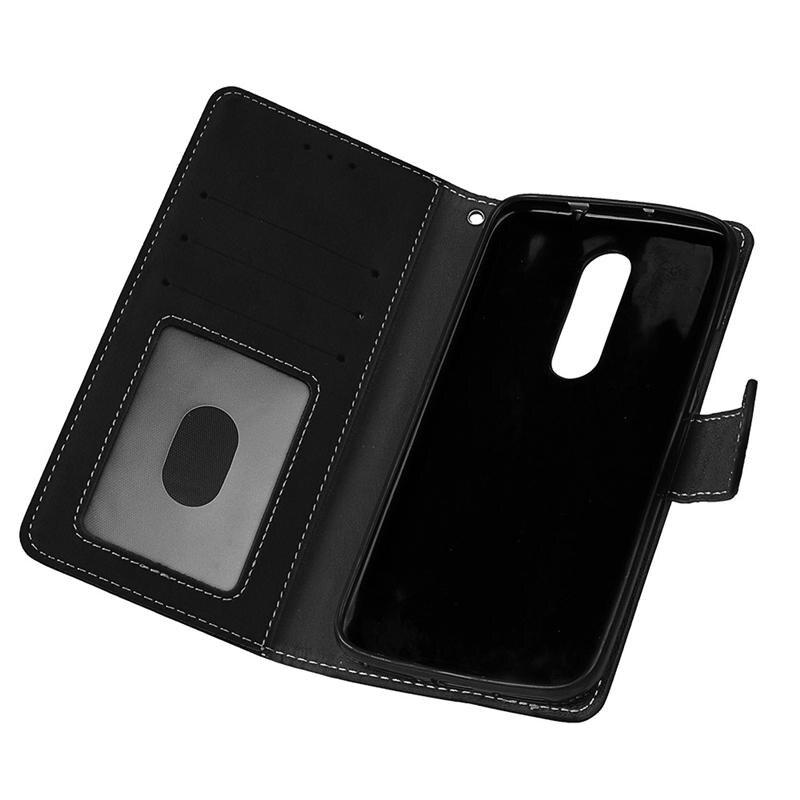 For Motorola Moto M Case Moto M XT1662 Cover 5 5 PU Leather Phone Case For  Lenovo Motorola Moto M XT1662 XT1663 Flip Back Case