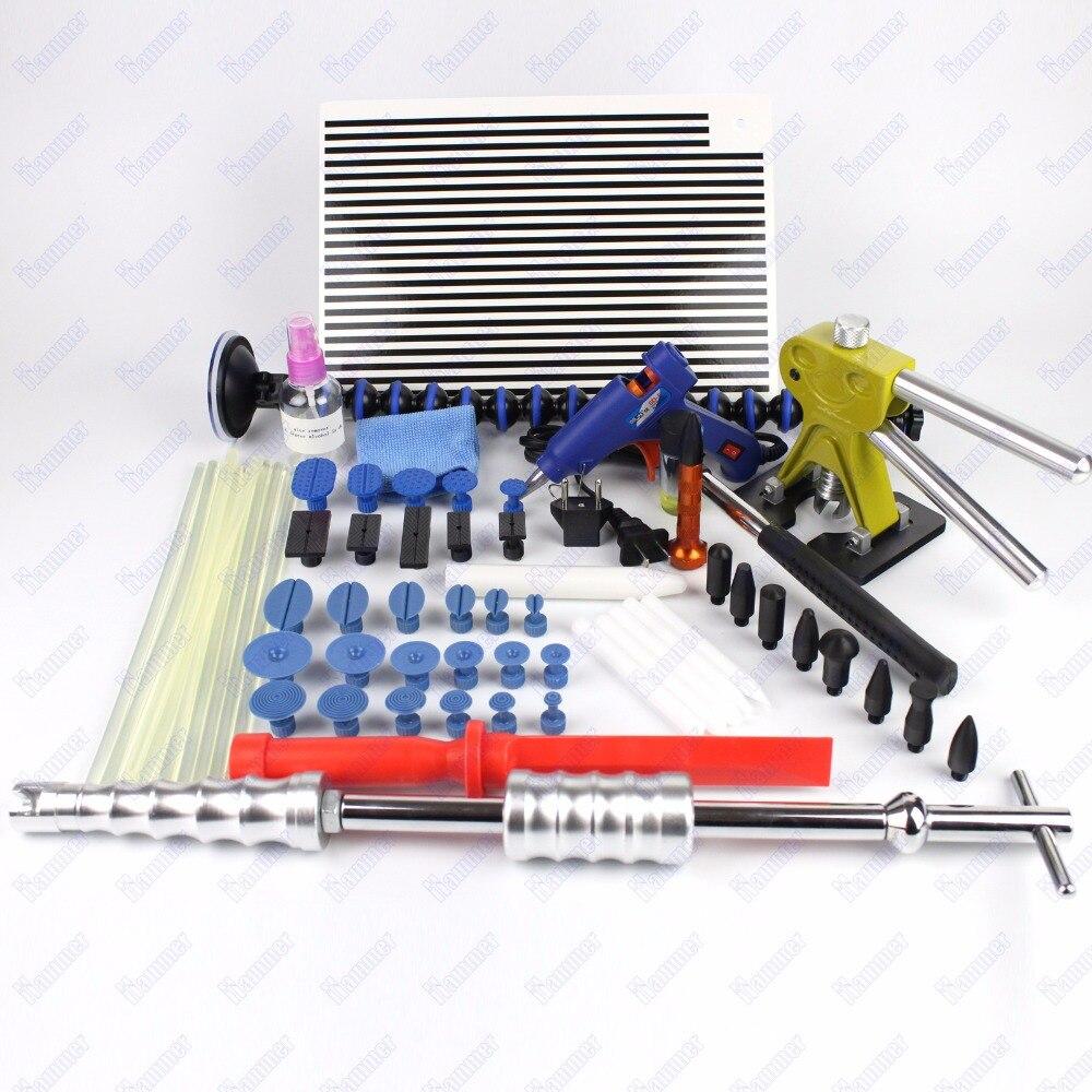 PDR Tool PAINTLESS dent REPAIR tools GLUE puller PDR Auto slide hammer dent lifter kits  цены