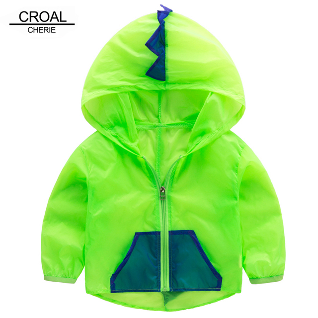 33b5f3cca 80 120cm Cute Dinosaur Infant Baby Summer Sunscreen Jacket For ...