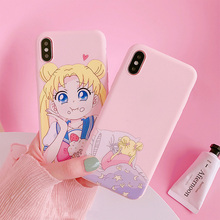 Sailor Moon Phone Case For iphoe X XR XS Max Case
