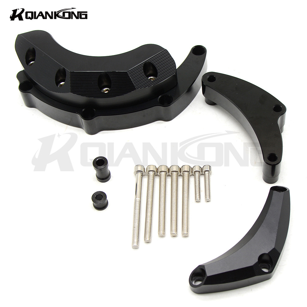 motorcycle accessories Engine Stator Crash Pad Slider Protector Guard Cover For For Yamaha MT-09 MT09 MT 09  2014 2015 2016 2017 new arrival 5 colors motorcycle engine saver stator case guard covers slider protector for bmw s1000rr hp4 k42 k46 2009 2015