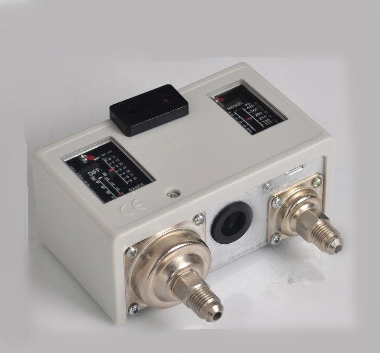 Contrôleur de pression de HS-P830HM haute et basse pression pressostat climatiseur régulateur de pression de vide automatique