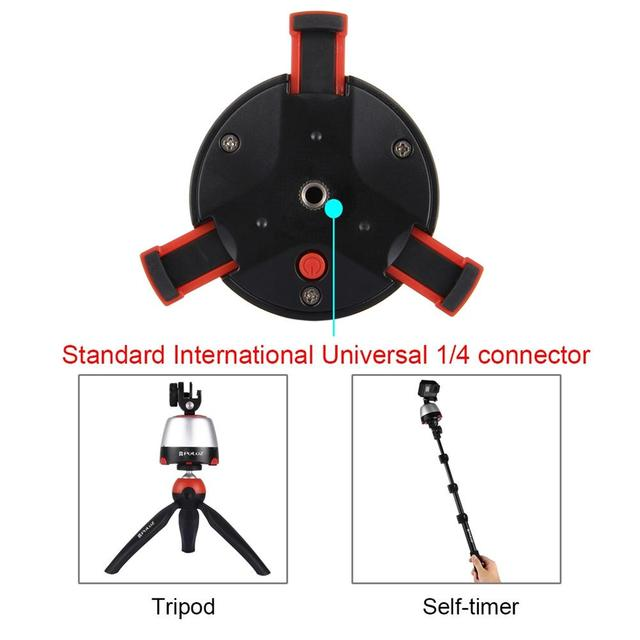 Universal 300mAh 360 Degree Panoramic Rotation Remote Control Electric Bluetooth Stabilizer Controller For Iphone DSLR Cameras