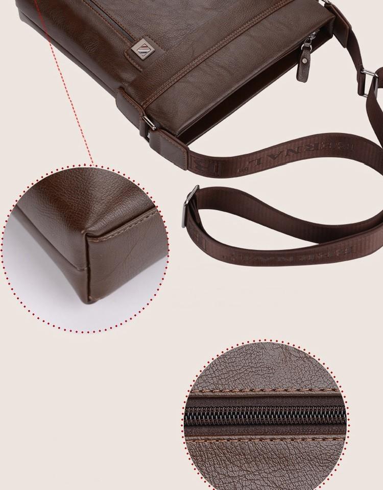 новые модные мужские сумки кожаные деловые мужской дорожная сумка бренд дизайн мужчины сумка 2 цвета