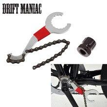 Bike Chain Convenient Remover Tool Whip Bottom Bracket Repair Freewheel Wrench Tool Kit Bicycle Repair Tools