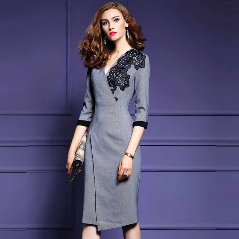 Office Wrap Dress Weddings Dresses