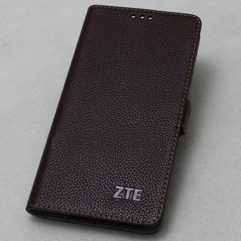 Genuine Leather Flip Case For ZTE Axon 9 Pro Cover Magnetic Case For ZTE Axon 9 Pro Cases Leather Cover Phone Cases Fundas