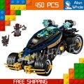 450 шт. Ниндзя Новый 10582 Самураев VXL DIY Модель Строительные Блоки Кирпич Детей Игрушки Устанавливает Совместимо с Lego