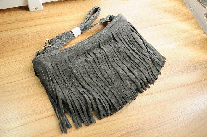 genuine leather fringe tassel bags women shoulder crossbody bag women's handbags bag (15)