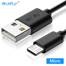 RAXFLY Micro USB Cable For Samsung Galaxy S6 A7 Data Sync Data Cable For Galaxy J3 J5 J7 Fast Charging Charger Wire For Xiaomi(China)