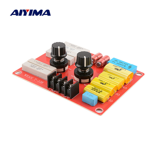 AIYIMA Fever Pure Tweeters Frequency Speaker Crossover Audio Car Treble Active Crossover Filter Accessories DIY Sound System