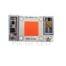 High Power LED Chip 50W Full Spectrum 400-840nm AC 220V/110V No Need Driver Light Bead DIY 50 Watt Grow For Plant Flower