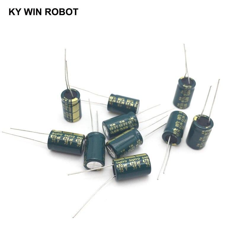 SANYO 3300uF 10V 105C radiale Condensatore elettrolitico Low ESR Electronics Riparazione