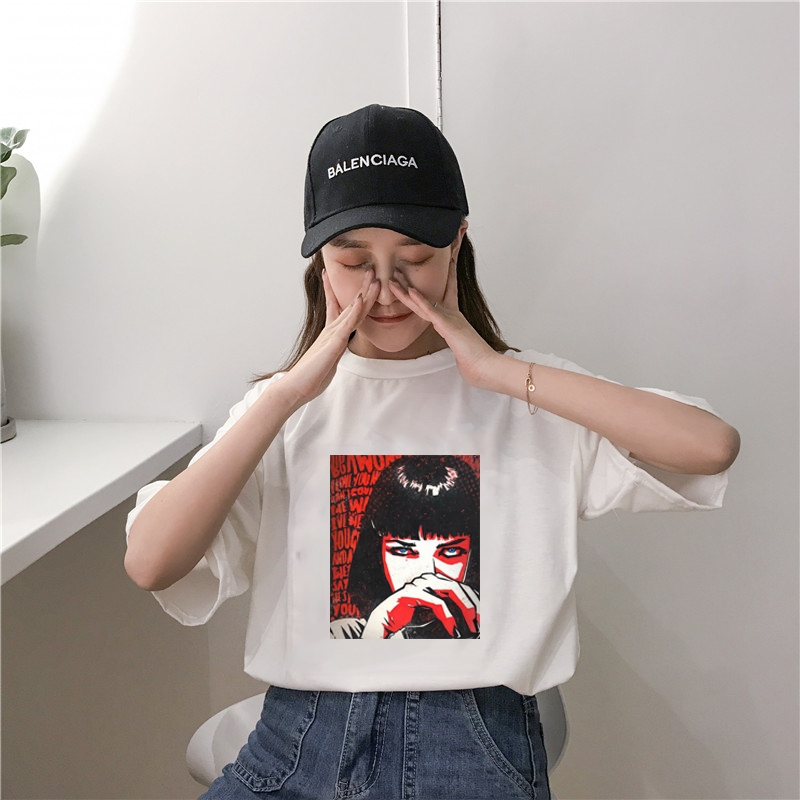 Female Womens Casual Short Sleeve pokemon Tops Summer Vogue Printed shirt femme Fashion harajuku for women's shirt vintage Top