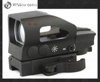 Vector Optics Ratchet 1x23x34 Red Green Dot Scope 4 Reticle Sight With QD Picatinny Mount For