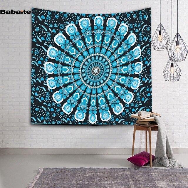 hanging beach towel. Babaite Colorful Mandala Tapestry Psychedelic Wall Hanging Throw Bohemian Door Curtain Yoga Mat Beach Towel Home E