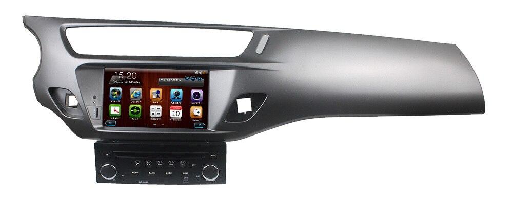 buy 2din car dvd gps radio for citroen c3 ds3 2013 2014 indash multimedia. Black Bedroom Furniture Sets. Home Design Ideas