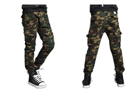 Teenage Boys Pant Cotton Camouflage Cargo Pants Children Casual Outdoor Trousers FW