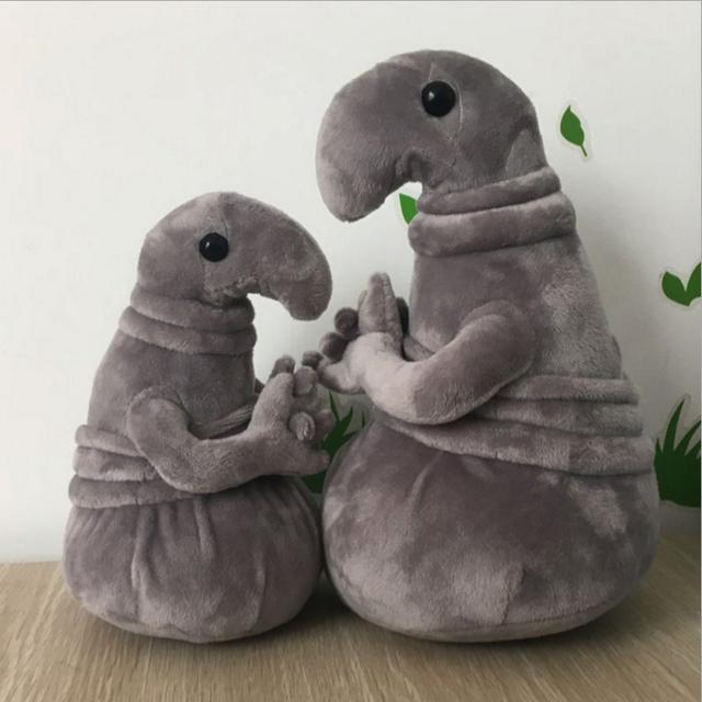 New Hot Waiting Plush Toy Zhdun Meme Tubby Gray Blob Zhdun Plush Doll Toys Homunculus Loxodontus