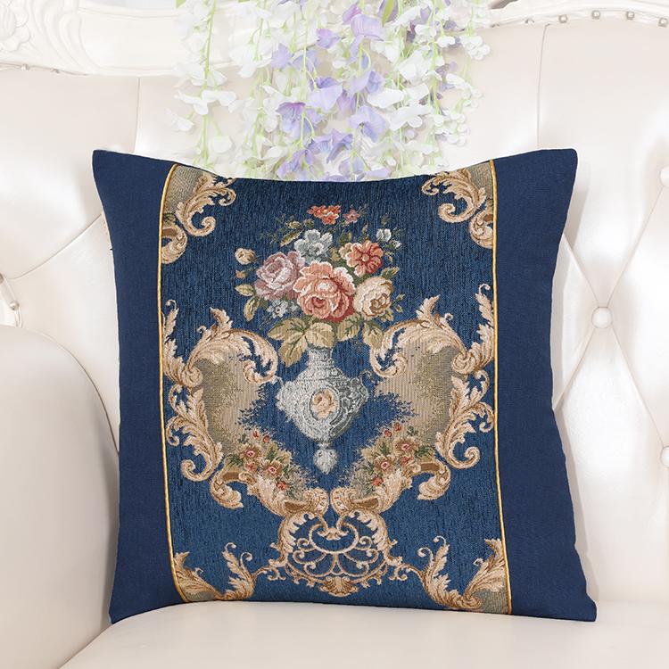 Latest Modern European Jacquard Cushion Cover Sofa Chair Covers Decorative Pillows Cushions Home Decor Pillow Case Christmas