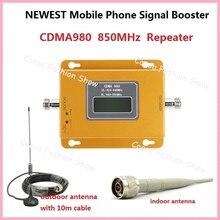 مقوي إشارة للهاتف المحمول ZQTMAX 70dB 2G 4G 4g gsm 850mhz مقوي إشارة 4G LTE Celula   هوائي