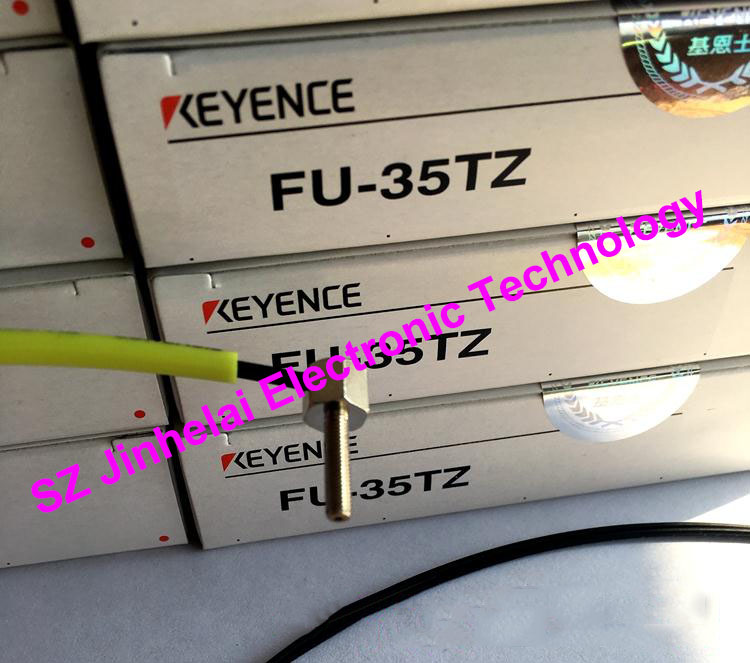 100% New and original FU-35TZ  KEYENCE Optical fiber sensor dhl ems 2 lots new keyence fu 34 transmissive fiber optic sensor switch