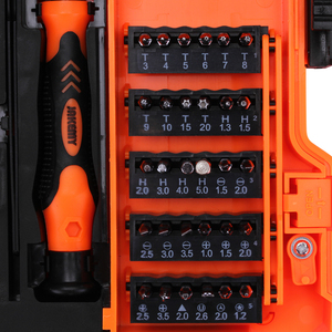 Image 4 - JAKEMY 45 in 1 Professional Tool Sets Screwdriver Multi Bits For Computer Mobile Phone Repair Tools Outillage Herramientas