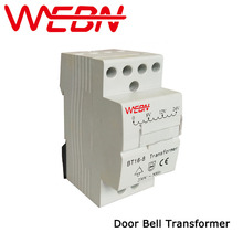 BT16-8 Door Bell Transformer Rated Voltage 230/240VAC 50/60Hz IP20 CE Approval