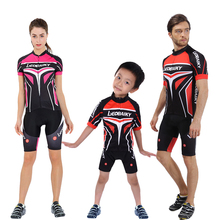 Summer Women Cycling Jersey Set Pro Team 2018 Short Sleeve Mtb Mountain Bike Clothing Men Bicycle Wear Kids Cycling Family Suits все цены