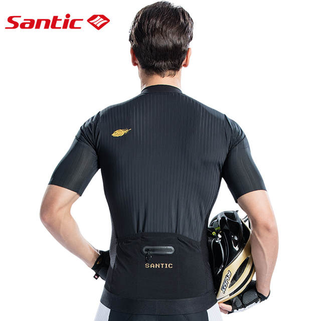 c476a8916 placeholder Santic Men Cycling Short Sleeve Jersey Pro Fit Imported Italian  Fabric Cuffs MTB Road Bike Pro