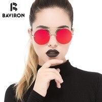 BAVIRON Punk Style Okulary Kobiety Metalowe Kolorowe NFYW Bezramowe Okulary Unisex Fashion Design Hot Street Ładne Okulary 8364