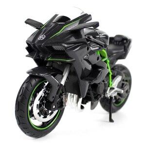Image 3 - Maisto 1:12 Kawasaki Ninja H2R H2 R Assemblare FAI DA TE Moto Modello di Moto Per I Bambini Giocattoli Regali Libero di Trasporto di NUOVO IN BOX