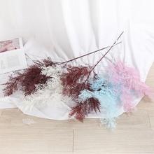 Klonca Natural Silk Flower 96cm 2pcs/lot Fake Rime Mist for Wedding Decoration Wall