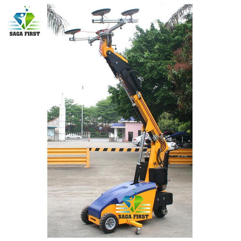 China Supplier 2000w 350kg electric vacuum glass lifter lifting equipment