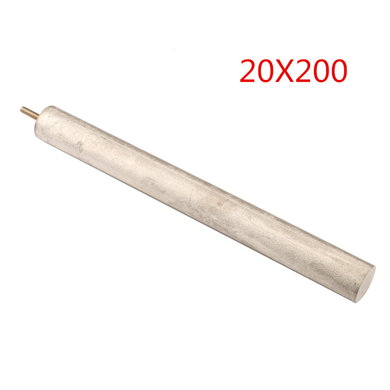 Isuotuo 20X185mm/20X200mm/20X250mm/20X300mm Magnesium Anode Rod For Electric Water Heater  M4/M5/M6 Magnesium Rod