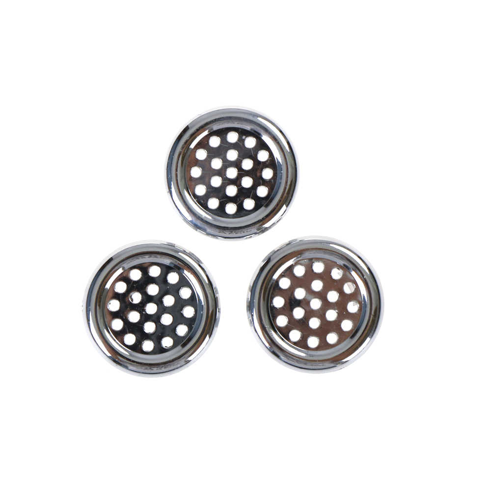3pcs/lot Overflow ring Basin Sink Round Overflow Cover Ring Insert Replacement Tidy Chrome Trim Bathroom Accessories