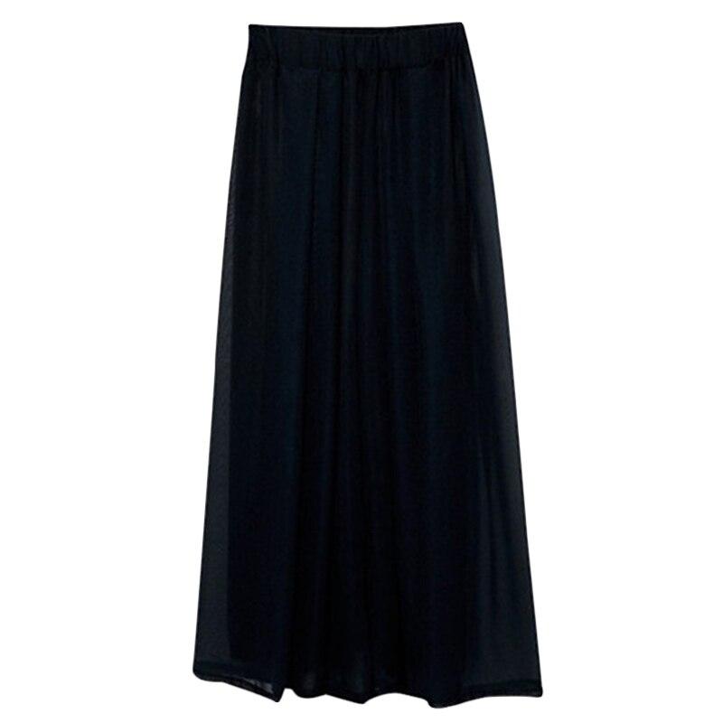New Spring Summer Fashion Loose Wide leg pants Women High waist Chiffon Pants Women's slim Plus size Casual Trousers 6XL F563