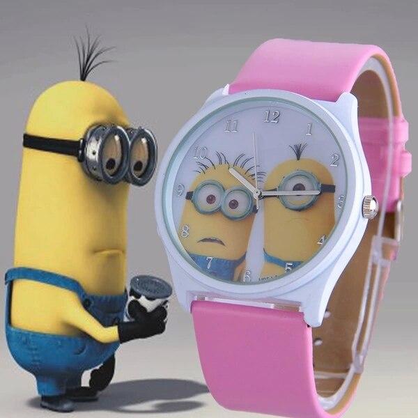 Милые дети дети миньон watchsnap наручные часы.
